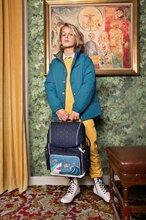 Školske torbe i ruksaci - Školský batoh veľký Ergomaxx Sharkie Jeune Premier ergonomický luxusné prevedenie 39*26 cm JPERX21174_1