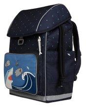 Školske torbe i ruksaci - Školský batoh veľký Ergomaxx Sharkie Jeune Premier ergonomický luxusné prevedenie 39*26 cm JPERX21174_5