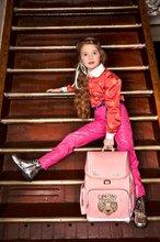 Školske torbe i ruksaci - Školský batoh veľký Ergomaxx Tiara Tiger Jeune Premier ergonomický luxusné prevedenie 39*26 cm JPERX21177_1
