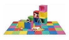 Pěnové puzzle Lee Chyun barevná podložka 36 kusů pro nejmenší děti