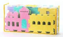 Podlahové puzzle pro miminka - Pěnový koberec hrad Lee Chyun s plotem v tašce pro nejmenšh 25 ks_1