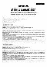 Cudzojazyčné spoločenské hry - Spoločenské hry Autá Špeciál set ôsmich hier 8v1 Educa v angličtine od 4 rokov_3