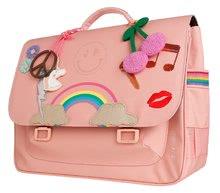 Školske aktovke - Školska aktovka It bag Midi Lady Gadget Pink Jeune Premier ergonomska luksuzni dizajn 30*38 cm_4