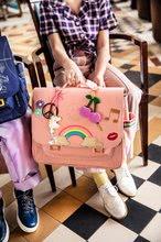 Školske aktovke - Školska aktovka It bag Midi Lady Gadget Pink Jeune Premier ergonomska luksuzni dizajn 30*38 cm_14