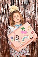Školske aktovke - Školska aktovka It bag Midi Lady Gadget Pink Jeune Premier ergonomska luksuzni dizajn 30*38 cm_2