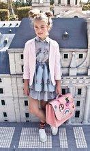 Školske aktovke - Školska aktovka It bag Midi Lady Gadget Pink Jeune Premier ergonomska luksuzni dizajn 30*38 cm_16