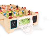 Stolný futbal - Drevený futbalový stôl Champions Janod so sieťkovou bránkou od 3 rokov_0
