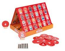 Spoločenská hra Tekitoua Janod so zvieratkami v angličtine so 48 kartami od 5 rokov
