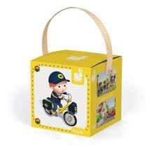 Detské puzzle do 100 dielov - Puzzle Matúšov bicykel Janod v kufríku 24 - 36 dielov od 3 - 6 rokov_2