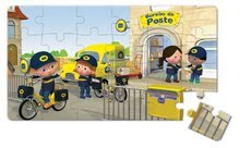 Detské puzzle do 100 dielov - Puzzle Matúšov bicykel Janod v kufríku 24 - 36 dielov od 3 - 6 rokov_4