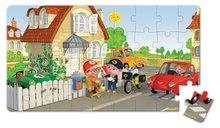 Detské puzzle do 100 dielov - Puzzle Matúšov bicykel Janod v kufríku 24 - 36 dielov od 3 - 6 rokov_5