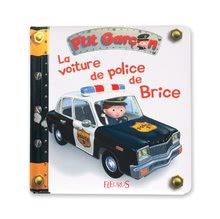 Detské puzzle do 100 dielov - Puzzle Borisove policajné auto Janod v kufríku 24 - 36 dielov od 3 - 6 rokov_3