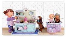 Detské puzzle do 100 dielov - Puzzle Lola na čajovej párty Janod v kufríku 24 - 36 dielov od 3 - 6 rokov_0
