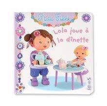Detské puzzle do 100 dielov - Puzzle Lola na čajovej párty Janod v kufríku 24 - 36 dielov od 3 - 6 rokov_3