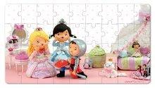 Detské puzzle do 100 dielov - Puzzle Ruženka sa hrá na princeznú Janod v kufríku 24 - 36 dielov od 3 - 6 rokov_1