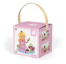Detské puzzle do 100 dielov - Puzzle Ruženka sa hrá na princeznú Janod v kufríku 24 - 36 dielov od 3 - 6 rokov_2