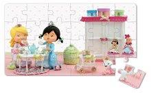 Detské puzzle do 100 dielov - Puzzle Ruženka sa hrá na princeznú Janod v kufríku 24 - 36 dielov od 3 - 6 rokov_4