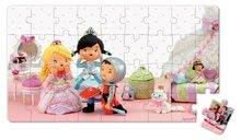 Detské puzzle do 100 dielov - Puzzle Ruženka sa hrá na princeznú Janod v kufríku 24 - 36 dielov od 3 - 6 rokov_5