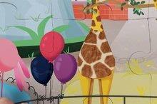 Puzzle pre najmenších - Puzzle Tactile Deň v zoologickej záhrade Janod s textúrou 20 dielov od 3 rokov_2