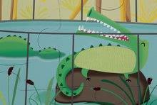 Puzzle pre najmenších - Puzzle Tactile Deň v zoologickej záhrade Janod s textúrou 20 dielov od 3 rokov_3