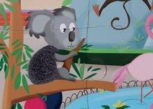 Puzzle pre najmenších - Puzzle Tactile Deň v zoologickej záhrade Janod s textúrou 20 dielov od 3 rokov_6