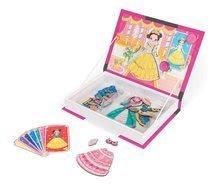 Magnetická kniha Princezné Magnetis'Book Janod 8 kariet
