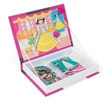 Magnetky pre deti - Magnetická kniha Princezné Magnetis'Book Janod 8 kariet_0