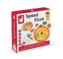 Spoločenská hra Rýchla Pizza Janod v angličtine od 4 rokov