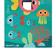 Vývoj motoriky - Didaktická kocka Oceán Janod s rôznymi textúrami a kockami od 12 mes_9