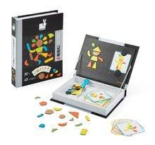 Magnetky pre deti - Magnetická kniha Moduloform Magneti'Book Janod 30 kariet_2