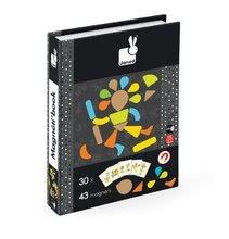 Magnetky pre deti - Magnetická kniha Moduloform Magneti'Book Janod 30 kariet_3