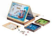 Cudzojazyčné spoločenské hry - Spoločenská hra Pirates Battleship Janod magnetická od 5 rokov_0