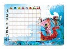 Cudzojazyčné spoločenské hry - Spoločenská hra Pirates Battleship Janod magnetická od 5 rokov_3