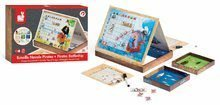 Cudzojazyčné spoločenské hry - Spoločenská hra Pirates Battleship Janod magnetická od 5 rokov_8