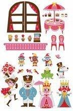 Magnetky pre deti - Magnetická dekorácia do detskej izby Princess Magneti' Stick Janod od 3 rokov_1