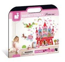 Magnetky pre deti - Magnetická dekorácia do detskej izby Princess Magneti' Stick Janod od 3 rokov_3