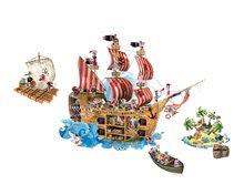 Magnetická dekorácia do detskej izby Pirates Magneti' Stick Janod od 4-10 rokov