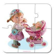 Detské puzzle do 100 dielov - Puzzle Lilou a bábiky Janod v kufríku 6-9-12-16 dielov od 3 - 6 rokov_0