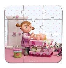 Detské puzzle do 100 dielov - Puzzle Lilou a bábiky Janod v kufríku 6-9-12-16 dielov od 3 - 6 rokov_2