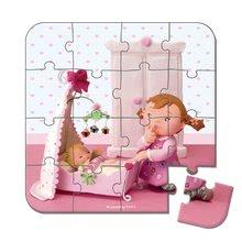 Detské puzzle do 100 dielov - Puzzle Lilou a bábiky Janod v kufríku 6-9-12-16 dielov od 3 - 6 rokov_3