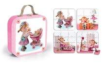 Detské puzzle do 100 dielov - Puzzle Lilou a bábiky Janod v kufríku 6-9-12-16 dielov od 3 - 6 rokov_4
