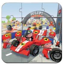 Detské puzzle do 100 dielov - Puzzle Gabinova formula 1 Janod v kufríku 6-9-12-16 dielov od 3 - 6 rokov_2