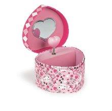 Dětská hudební šperkovnice Jewellery Heart Musical Box-Cat Janod