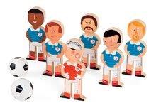Dřevěné kuželky Champions Soccer Skittles Janod s fotbalisty
