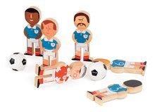 Kolky - Drevené kolky Champions Soccer Skittles Janod s futbalistami_0