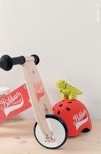 Drevené odrážadlá - Drevené odrážadlo Little Bikloon Janod Red&White od 12 mes_0