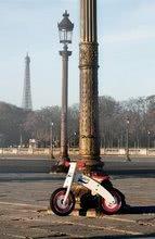 Drevené odrážadlá - Drevený balančný bicykel Bikloon Janod Red&White od 3 rokov_2