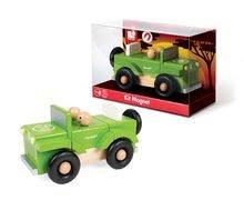 Autíčka - Drevená magnetická skladačka auto Kit Magnet Janod 9 dielov od 24 mes_1