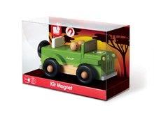 Autíčka - Drevená magnetická skladačka auto Kit Magnet Janod 9 dielov od 24 mes_2