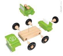 Autíčka - Drevená magnetická skladačka auto Kit Magnet Janod 9 dielov od 24 mes_0